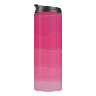 Pink Lipstick Ombre Tumbler