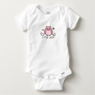 Pink LIttle Hoot Baby Onesie