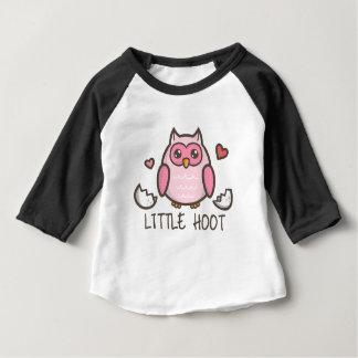 Pink LIttle Hoot Baby T-Shirt