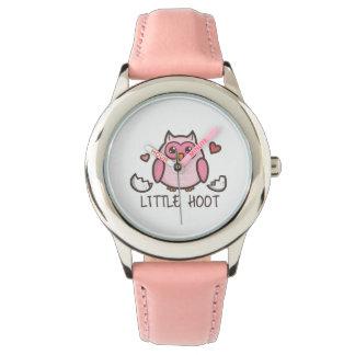 Pink Little Hoot Wristwatches