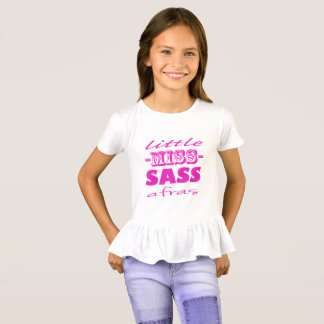 Pink Little Miss Sassafras T-Shirt