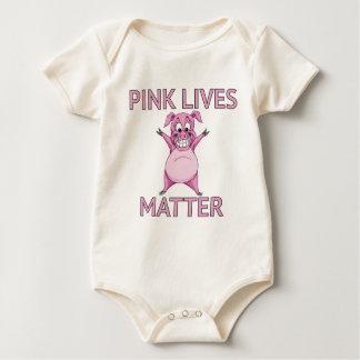 PINK LIVES MATTER BABY BODYSUIT