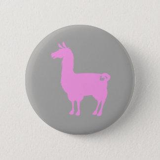 Pink Llama Button