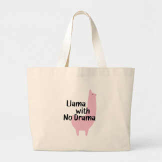 Pink Llama Tote