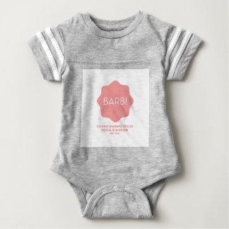 Pink Logo Baby Bodysuit