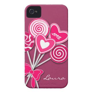 Pink Lollipop BlackBerry Bold Case