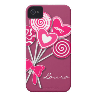 Pink Lollipop BlackBerry Curve Case