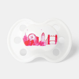 Pink London Baby Pacifier