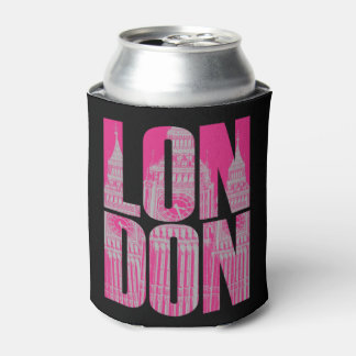 Pink London Can Cooler