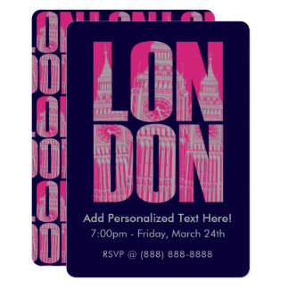 Pink London Card