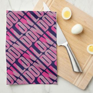 Pink London Kitchen Towel
