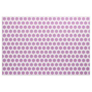 Pink lotus fabric