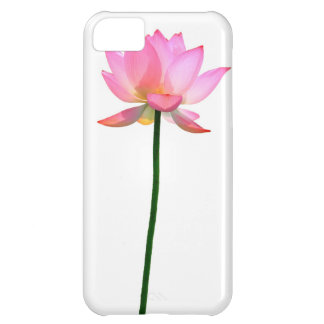 Pink Lotus Flower Cover For iPhone 5C