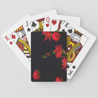 Pink Lotus Flowers Playing Cards