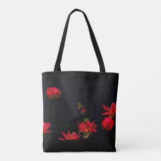 Pink Lotus Flowers Tote Bag