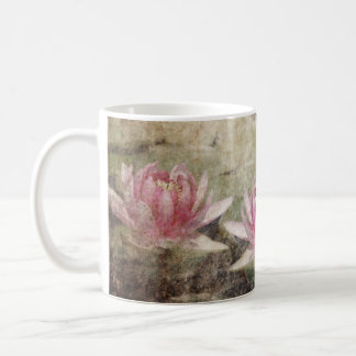 Pink Lotus Grunge Classic Mug