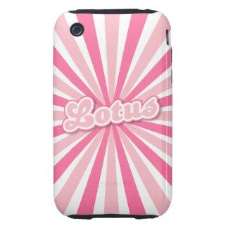 Pink Lotus iPhone 3 Tough Cases