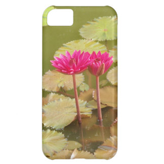 Pink lotus lilies iPhone 5C cases