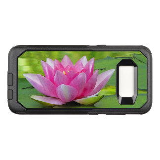 Pink Lotus Water Lily OtterBox Galaxy S8 Case