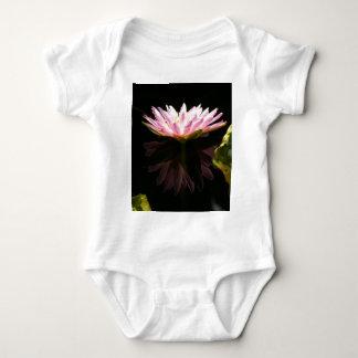 Pink Lotus Waterlily Baby Bodysuit