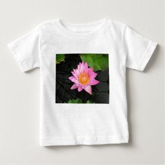 Pink Lotus Waterlily Baby T-Shirt