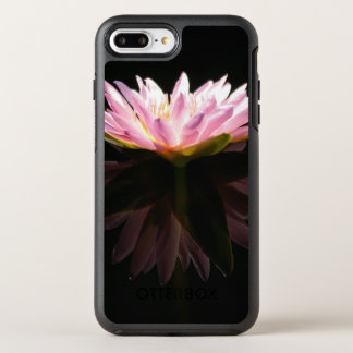Pink Lotus Waterlily OtterBox Symmetry iPhone 8 Plus/7 Plus Case