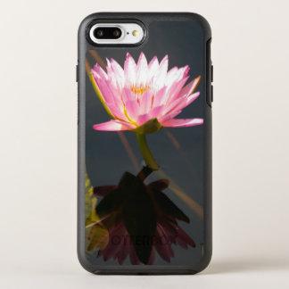 Pink Lotus Waterlily OtterBox Symmetry iPhone 8 Plus/7 Plus Case