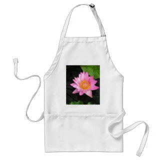 Pink Lotus Waterlily Standard Apron
