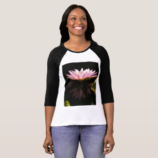 Pink Lotus Waterlily T shirt