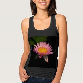 Pink Lotus Waterlily Tank Top