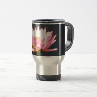 Pink Lotus Waterlily Travel Mug