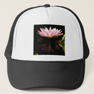 Pink Lotus Waterlily Trucker Hat