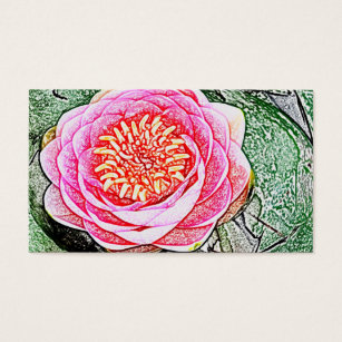 Lotus flower business gifts on zazzle ca pink lotus yoga business cards colourmoves