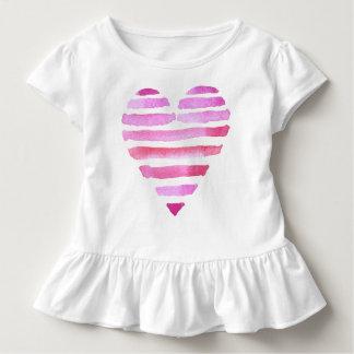 Pink Love Heart for kids Toddler T-shirt