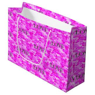 Pink Love Large Gift Bag
