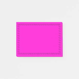 Pink Love Post-it Notes