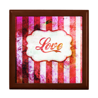Pink Love with Stripes Gift Box