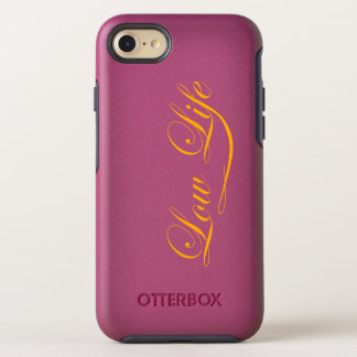 """Pink """"low life"""" case I-phone"""