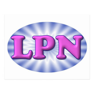 Pink LPN Postcard