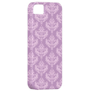 Pink Luxurious Damask Pattern iPhone 5 Covers