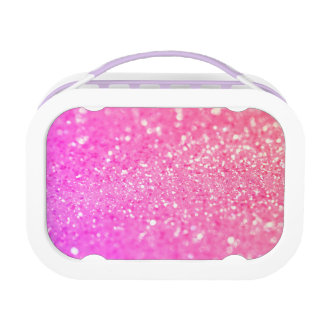 Pink Luxury Diamond Lunch Boxes