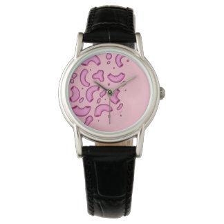 Pink Mac N Cheese Watch