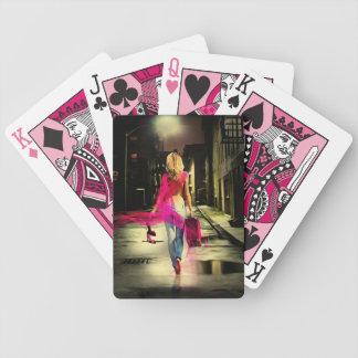 Pink Mac Playing Cards