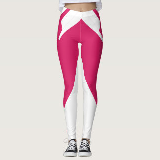 Pink Magenta Sports Sporty Fashion Chic Leggings