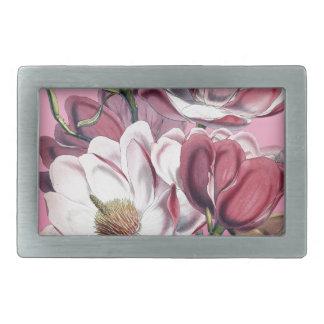 Pink Magnolia Belt Buckle