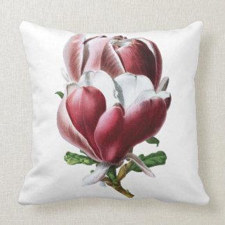 Pink Magnolia Large Botanical Cushion