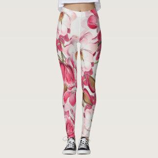 Pink Magnolia Leggings