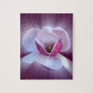 pink magnolia shades jigsaw puzzle