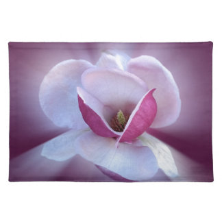 pink magnolia shades placemat