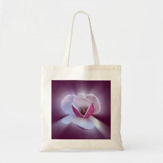 pink magnolia shades tote bag